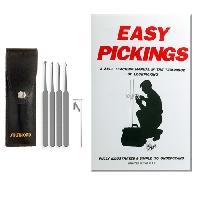 L-Five Piece Lock Pick Set