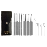 L-Fifteen Piece Slim Line Lock Pick Set