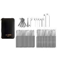 L-Seventy-Four Piece Slim Line Lock Pick Set